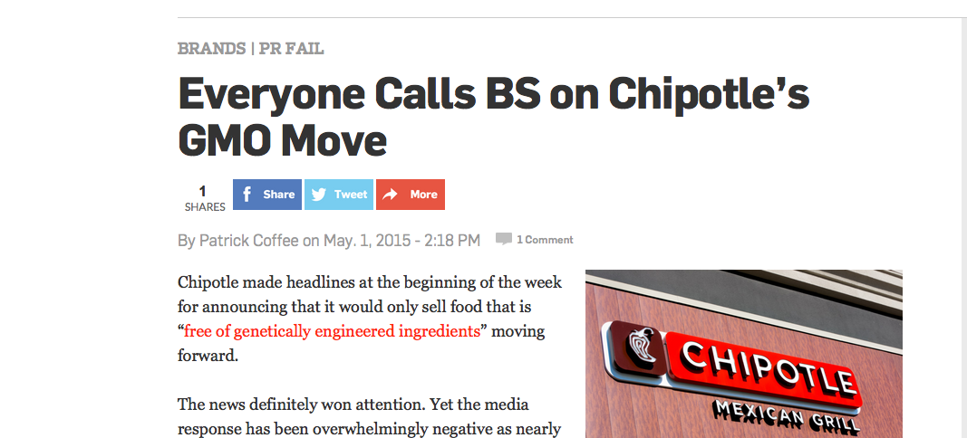 5 Big Drivers Behind the Chipotle Backlash