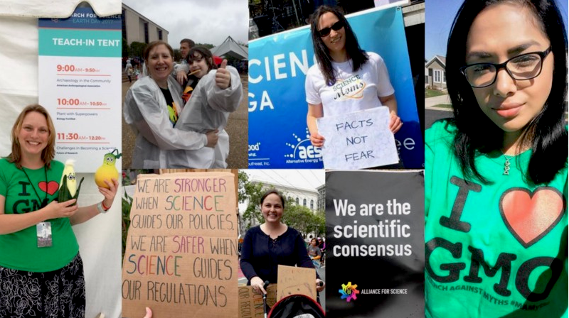 Science Moms at the March for Science