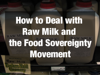 raw milk and food sovereignty