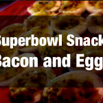 Superbowl Snack: Bacon and Eggs